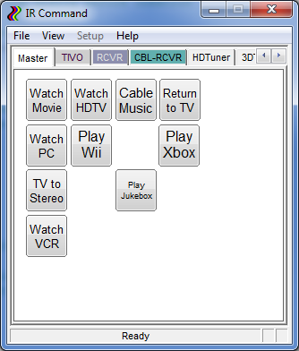 Overview of IRCommand2 - IR and X10 universal remote control